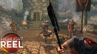 Highlight Reel #275 - Skyrim Warrior Unfazed by Death