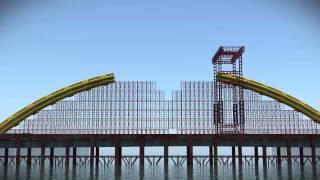 Dragon Bridge Da Nang, Vietnam Construction Sequence