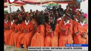 Samia Atoa Rai Kwa Wanafunzi Kusoma Masomo Ya Sayansi