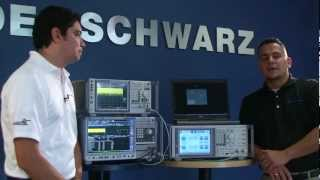 Testing Inter-Band Carrier Aggregation with Rohde&Schwarz