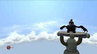 How to Train Your Dragon 2: The Video Game - Toothless | Open World Free Roam Gameplay [HD]