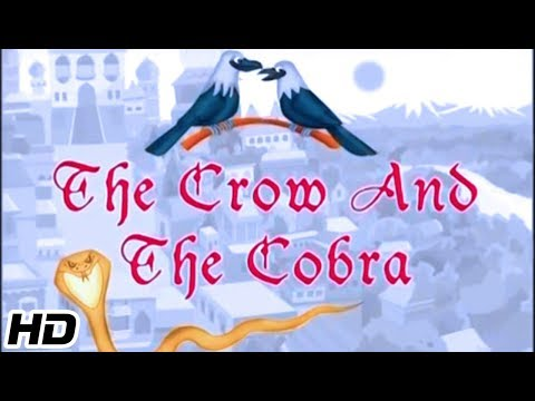 Grandpa s Treasure of Wonderful Stories The Crow And The Cobra Animated Hindi Stories For Kids