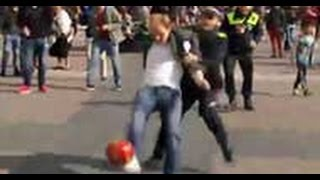 Liverpool supporters mocked the police, he was arrested! madrid