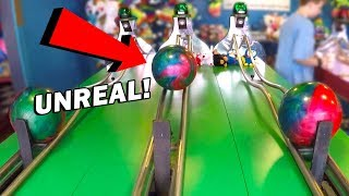 OMG! Look What Happened at Bowler Roller! | Carnival Games w/ Matt3756