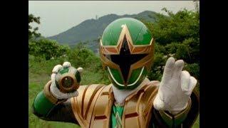 "Power Rangers Ninja Storm - Power Rangers vs DJ Drummond | Episode 21 ""Good Will Hunter"""