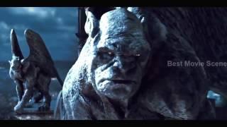 [BEST MOVIE SCENE HD] BEAST Demon vs Gargoyles