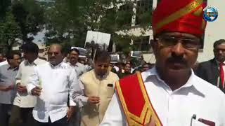 Judges & Advocate Holds Candle Light Protest for Soldiers at City Civil Court Hyderabad