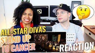 All-Star Diva Medley | Stand Up To Cancer | Beyoncé, Mariah Carey, Rihanna, etc. | REACTION