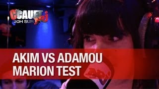 Marion test Abdel Hakim VS Adamou, que du bonheur ! - C'Cauet sur NRJ