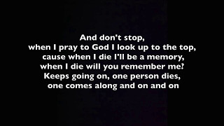 Stitches - When I Die (Lyrics)
