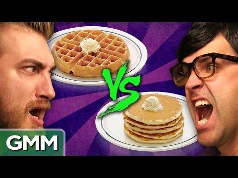 Waffles vs Pancakes Debate O Rama