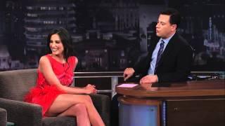 Genesis Rodriguez on Jimmy Kimmel Live PART 1