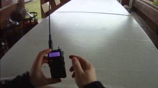 Baofeng UV-5R nastavení frekvence (CZ)