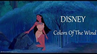 DISNEY -  Colors Of The Wind LYRICS