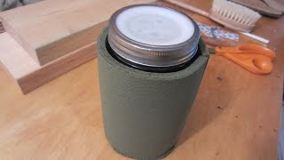 Home Made Water Bottle - Glass - BPA Free!