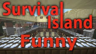 Minecraft- Survival Island [Funny Moments] 15