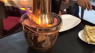 Flambé ratatouille cook iran chefbabaee