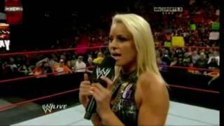 Maryse Gets Scared (Funny)
