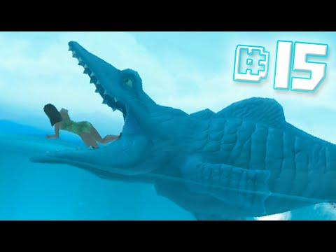 MOSASAURUS EAT Hungry Shark Evolution Ep 15