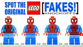 LEGO Spider-Man Marvel Super Heroes Original vs Fake Buyer Awareness