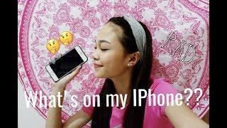 What's On My IPhone?? // Andree Bonifacio