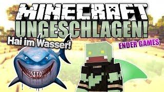 Boden Verbot Challenge Minecraft UNGESCHLAGEN Ender Games - Minecraft wasser hauser