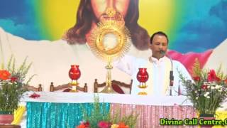Adoration conducted by  Fr  Anil Kiran Fernandes SVD