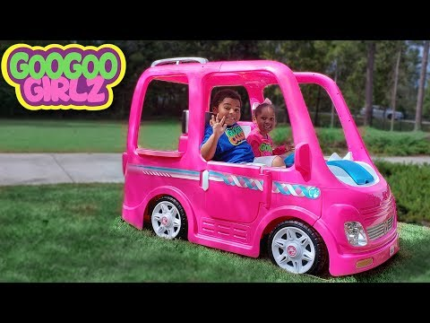 Xxx Mp4 Goo Goo Girlz Her Barbie Car Learn Colors During Pretend Play Camping Adventure 3gp Sex