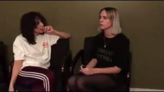 MØ and Tei Shi (Q&A)