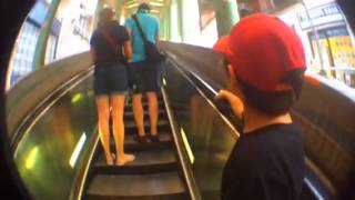 Hong Kong Escalator