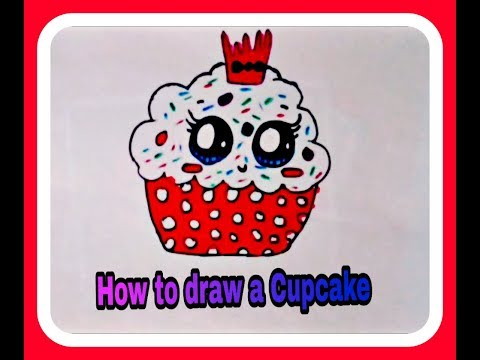 Xxx Mp4 How To Draw A Cute Cupcake Step By Step Cupcake Cake 3gp Sex