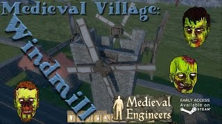Medieval Engineers - Village part 12