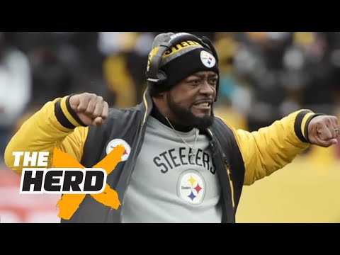 Colin still not impressed with the Steelers after playoff win over Dolphins THE HERD