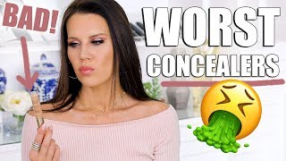 WORST CONCEALERS ... that just don't work!