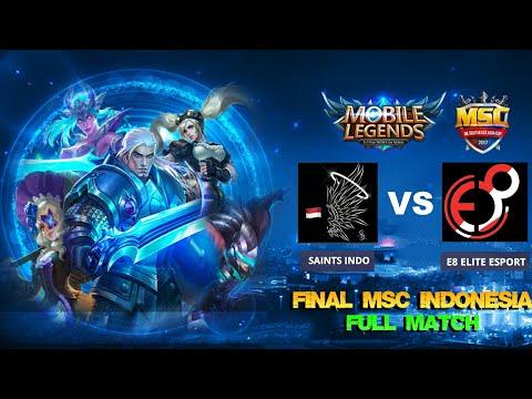 Xxx Mp4 FINAL Match 2 SAINTS INDO Vs E8 ELITE ESPORT Caster Mobile Legends MSC Indonesia Tournament 3gp Sex