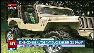 Este fin de semana se realiza exhibición de autos antiguos