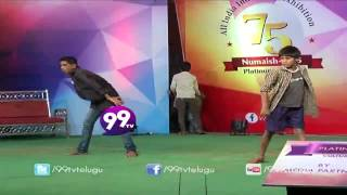 Race Gurram Movie Down Down Duppa Song Dance Performance at Numaish - 2015 - 99tv