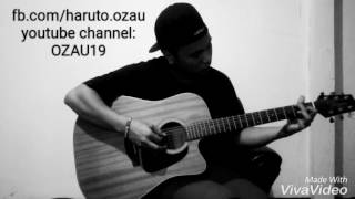 (Little Mix ft Jason Derulo) SECRET LOVE SONG - fingerstyle guitar cover by OZAU (lyrics and chords)