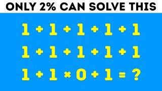 9 Math Riddles That