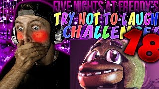 Vapor Reacts #481 | [FNAF SFM] FIVE NIGHTS AT FREDDY'S TRY NOT TO LAUGH CHALLENGE REACTION #18