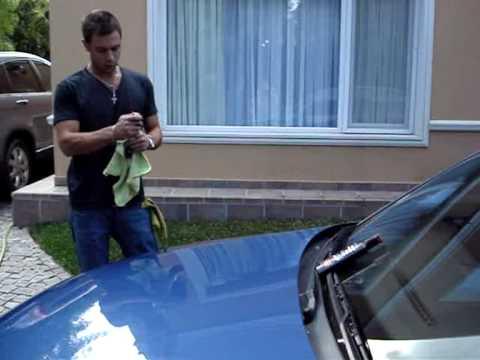 MANBROS 2 Carnauba Wax Como lavar y encerar fácilmente tu auto parte II