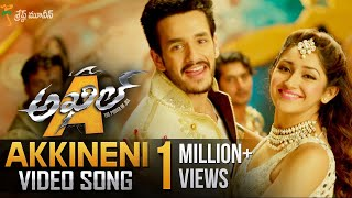 Akkineni Full Video Song || Akhil Movie Video Songs || Akhil Akkineni, Sayyeshaa