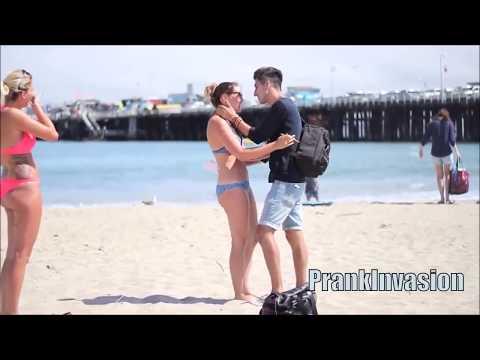 Kissing Prank - Thumb War GONE SEXUAL ( Kissing Hot Sexy Girls )