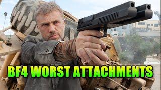 10 Worst Gun Attachments In Battlefield 4