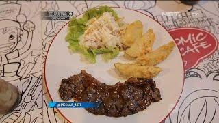 OK FOOD Episode 38 (3/3)   Nyobain Dark Knight Steak Dari Comic Cafe