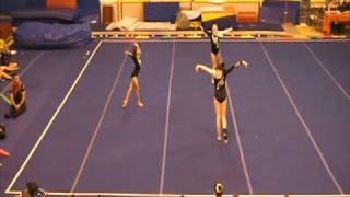 Level 6 Womens Acro Gymnastics Trio