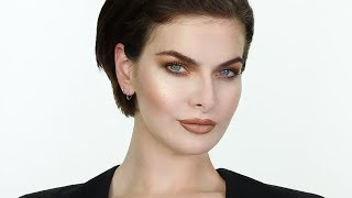 Chic 1990's Brown Makeup with Supermodel Iona Bourke | John Maclean