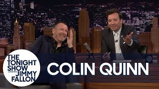 Colin Quinn Accidentally Spoils a Bit from His Comedy Special