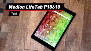 Aldi-Tablet mit LTE und Android 8.1: Medion LifeTab P10610 im Test
