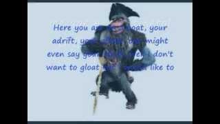 Ice Age 4: Continental Drift: Master of The Sea's Lyrics.